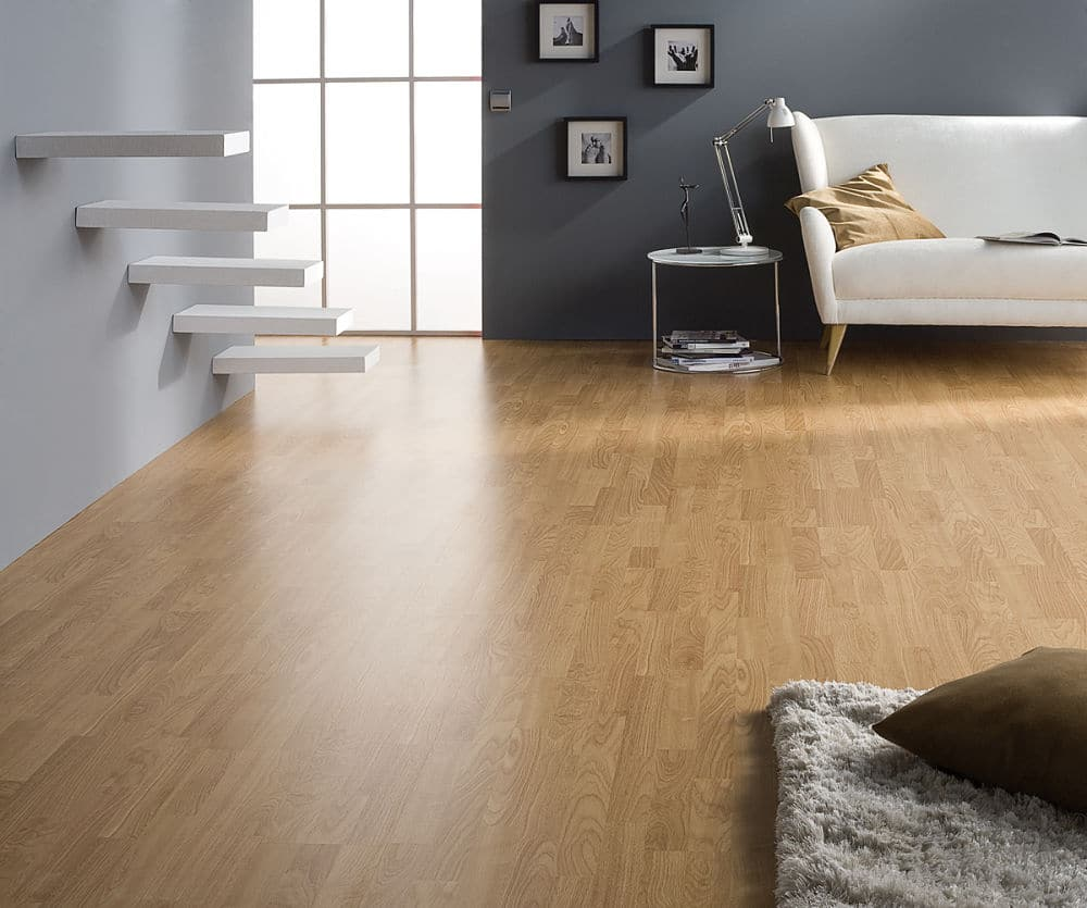Finfloor purefloor roble 3 3 club del parquet for Suelo laminado roble